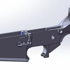 AR10.png Download STL file AR10/AR RECEIVER • 3D printing design, Model_Lover