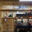 Download free STL Filament Storage Shelf Bracket Pacman, HoytDesign