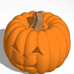 Download 3D printing files Jack-O-Lantern with removable top, soaringbear00678