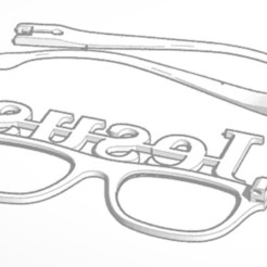 3D printer files Jesus Glasses, soaringbear00678
