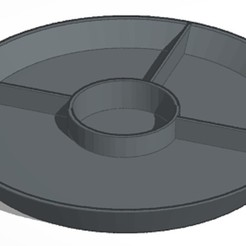 3D printer models Chip & Dip Tray, soaringbear00678