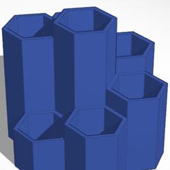Télécharger plan imprimante 3D Porte-stylo/ porte-crayon, soaringbear00678