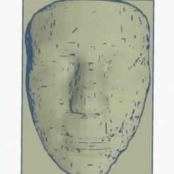 3D printing model Hillary Clinton Face, soaringbear00678
