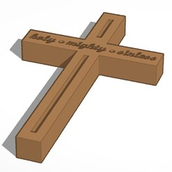 Descargar modelos 3D Cruz, soaringbear00678