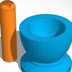 3D print files Grinding Bowl, soaringbear00678