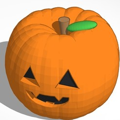 Free 3D printer files Pumpkin, soaringbear00678