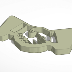 3D printing model Shaking Hands, soaringbear00678