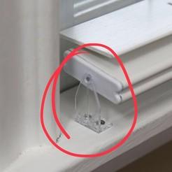 Télécharger modèle 3D Clip pour stores/supports/supports (supports pour stores), soaringbear00678