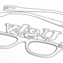 3D printing model Ugly Glasses, soaringbear00678