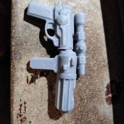 Download STL file DH-17 blaster pistol, spiderrogue3
