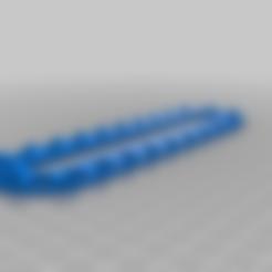 Télécharger modèle 3D gratuit Trieur dynamique à cordes de 7 pouces de long, msrsubs