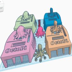 Download free STL file Swanky OctoPi Fan, CSI, GIPO • 3D printer design, msrsubs