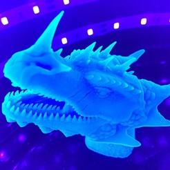 Descargar Modelos 3D para imprimir gratis Dragonology II - Head HD, monogalvis