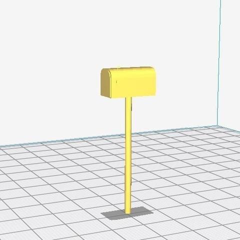 Download free 3D printing models American foot mailbox, LeFleuRZ33