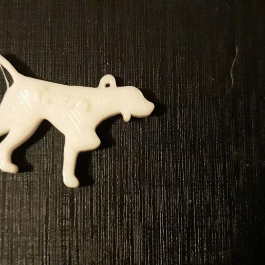 Télécharger fichier impression 3D gratuit chien, andresterradas
