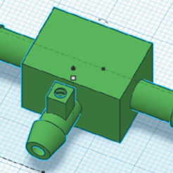 crucetapurga.png Download STL file t-crosshead with deaerator • 3D printer object, andresterradas