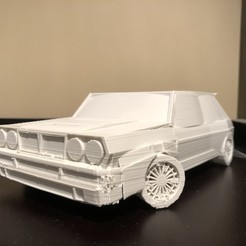 Download free 3D printer templates Model Lancia Delta, matthewkaul