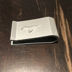 Download 3D print files Money Clip, matthewkaul