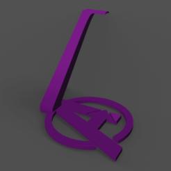 Posa Auriculares Avengers con Base.png Télécharger fichier STL Support pour casque d'écoute/position des vengeurs • Plan à imprimer en 3D, YoSoyBaro