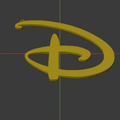 Impresiones 3D gratis Llavero Disney, YoSoyBaro