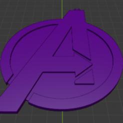 Descargar STL gratis Llavero Avengers - Los Vengadores, YoSoyBaro