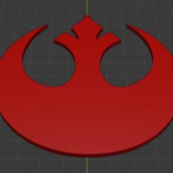 Rebel.PNG Télécharger fichier STL gratuit Porte-clés Alliance Rebelle - Star Wars • Objet pour imprimante 3D, YoSoyBaro