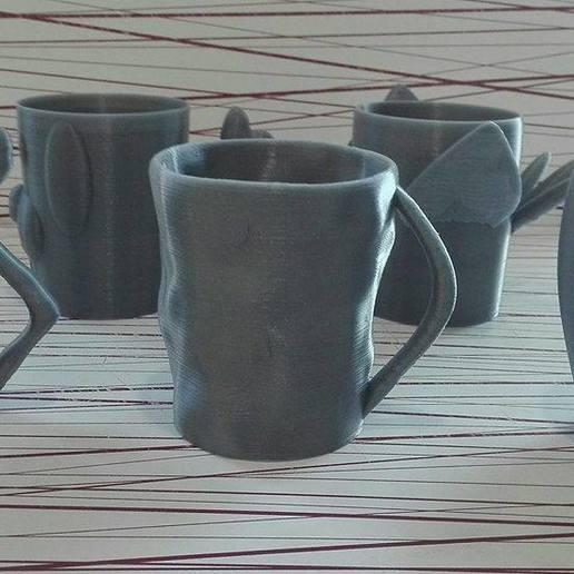 34512.jpg Download free STL file Animal cups • Design to 3D print, Rudddy