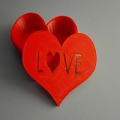 4.jpg Download STL file Heart shaped gift box • 3D print model, Rudddy