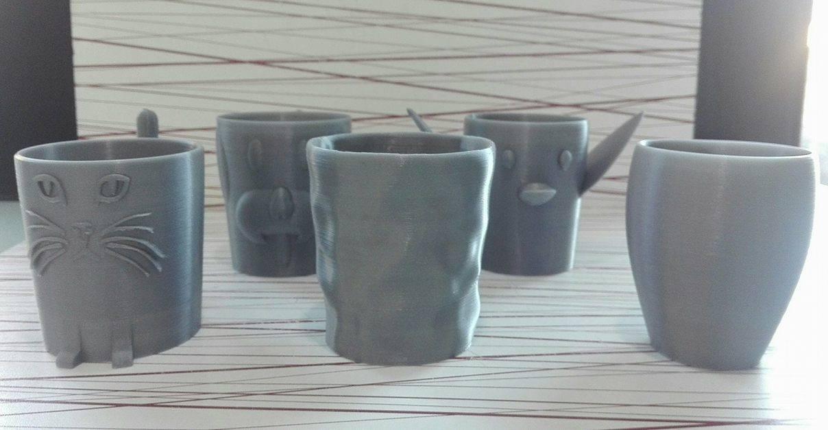 12345.jpg Download free STL file Animal cups • Design to 3D print, Rudddy
