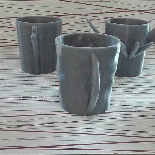 45123.jpg Download free STL file Animal cups • Design to 3D print, Rudddy