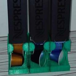 NespressoDispenser1.jpg Télécharger fichier STL gratuit Distributeur de tasses Nespresso. • Modèle imprimable en 3D, Rudddy