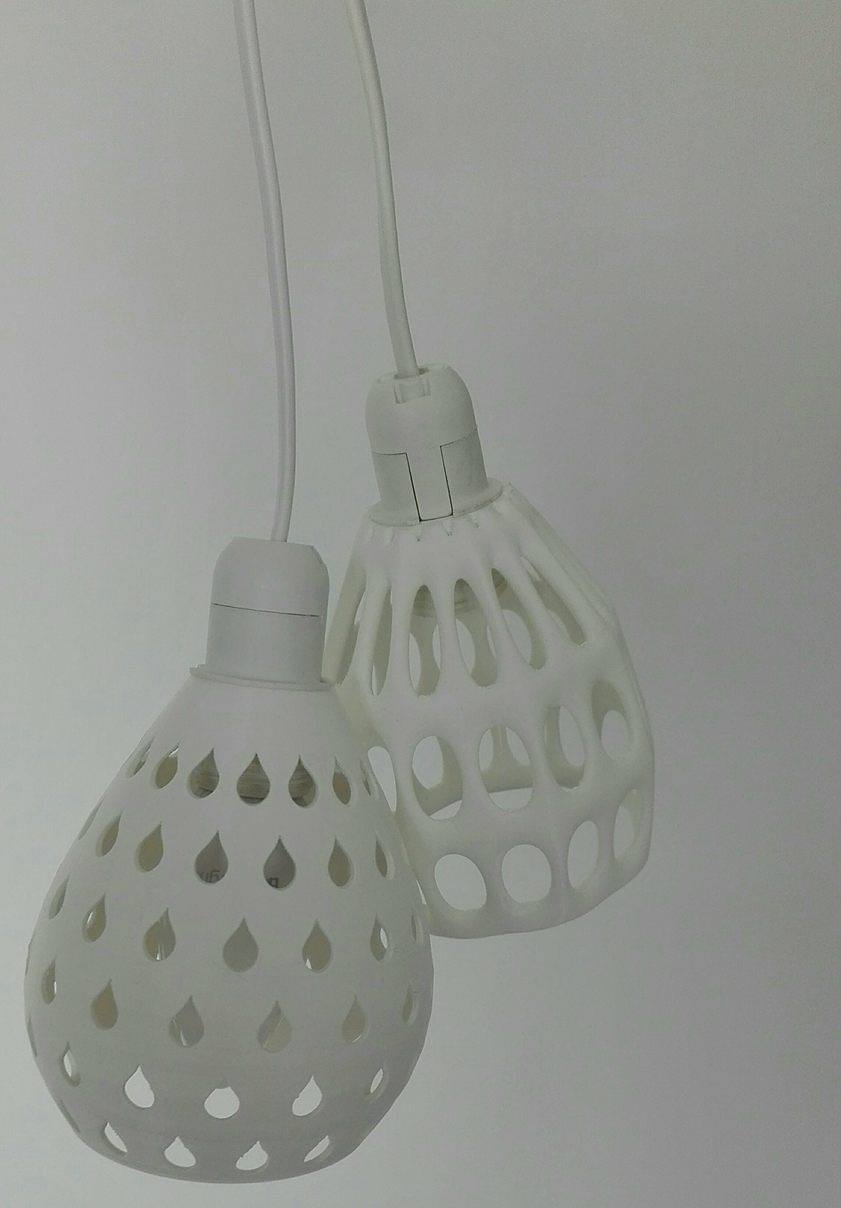 7.jpg Download free STL file 2 lampshades for an E14 fitting • Design to 3D print, Rudddy