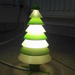 Kerstboom4.jpg Download STL file Christmastree Lamp • 3D print model, Rudddy