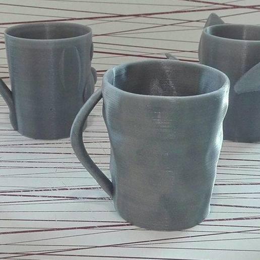 23451.jpg Download free STL file Animal cups • Design to 3D print, Rudddy
