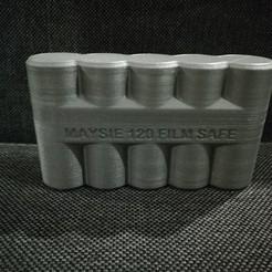Free 3D printer model 120 Film Safe, pawelek0014