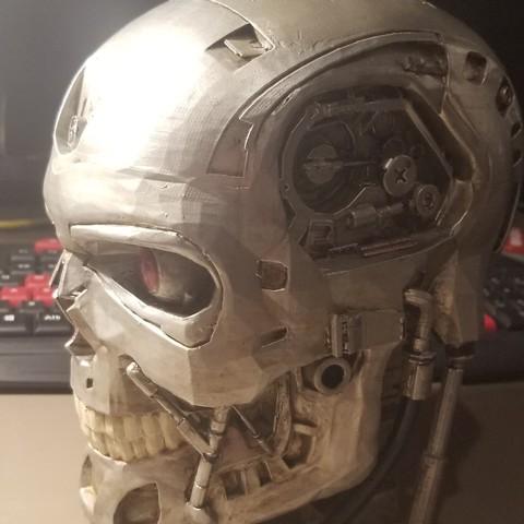 Impresiones 3D gratis Exoscopio Terminator T-800, kalelisbell