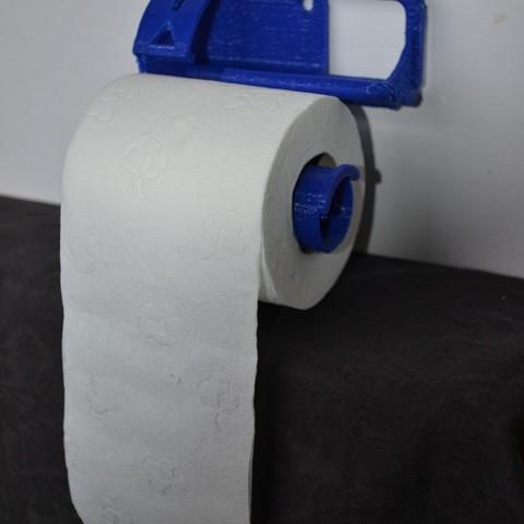 Download free 3D print files Wear gauge for toilet paper, turneralp