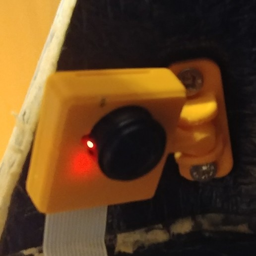 Download free 3D model Raspberry Pi Camera Housing for wide angle, lukeskymuh