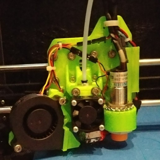 20170815_1004292.jpg Download free STL file Lukestruder - The E3D V6 bowden mount for prusa i3 (Anet A8) • 3D printer design, lukeskymuh