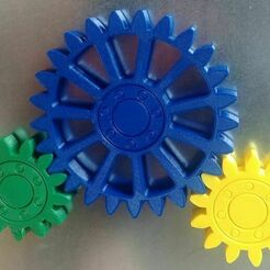 20201222_115444_2.jpg Download free STL file Gears with embedded magnets and integral bearing • Model to 3D print, lukeskymuh
