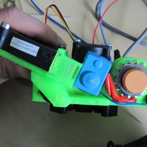 IMG_0813.JPG Download free STL file Lukestruder - The E3D V6 bowden mount for prusa i3 (Anet A8) • 3D printer design, lukeskymuh