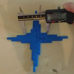 Descargar diseños 3D gratis Cruz de calibración, lukeskymuh