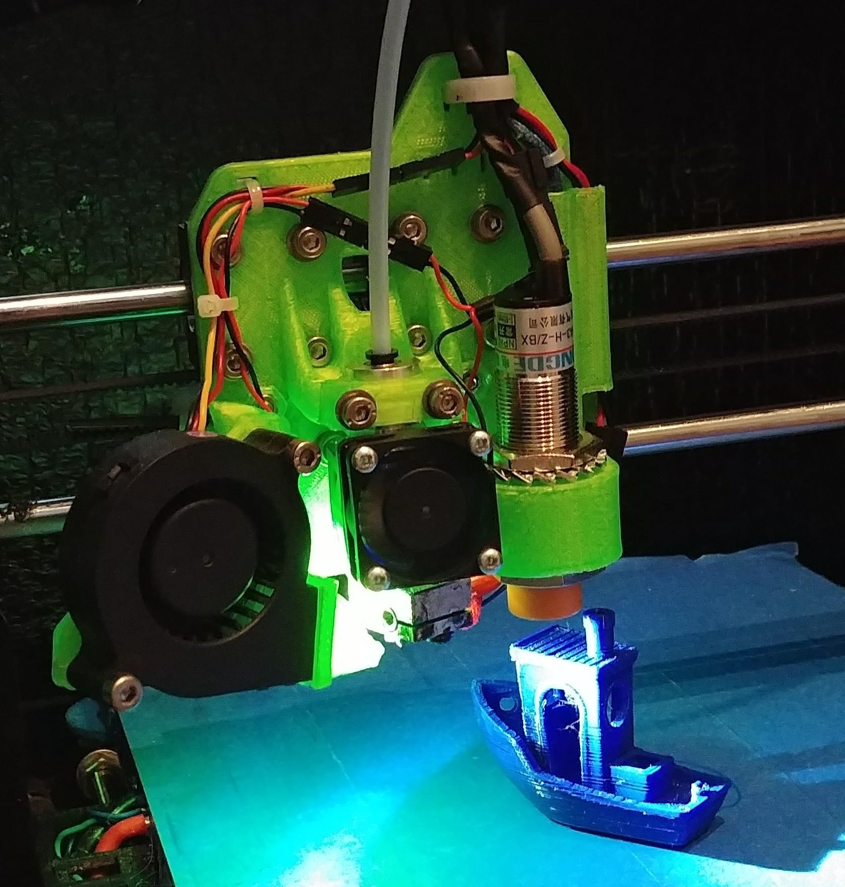 20170815_1007202.jpg Download free STL file Lukestruder - The E3D V6 bowden mount for prusa i3 (Anet A8) • 3D printer design, lukeskymuh