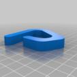 rainbarrel_clamp.png Télécharger fichier STL gratuit pince pour couvercle de tonneau de pluie • Plan pour impression 3D, lukeskymuh