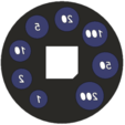 Download free STL file euro-coin-sorter, lukeskymuh