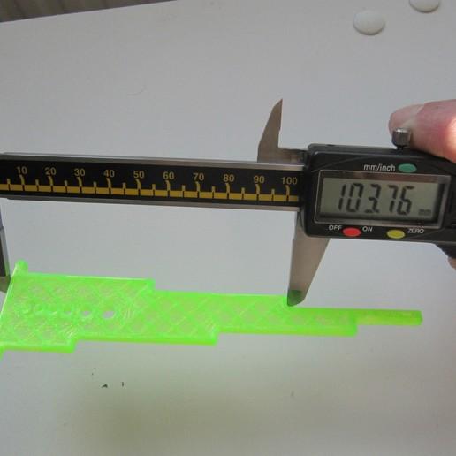 Download free 3D printer designs Accurate calibration/dimension test, lukeskymuh