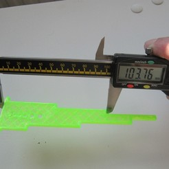 Download free STL file Accurate calibration/dimension test • 3D printable template, lukeskymuh