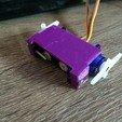 Free 3D printer files 2-Servo Combo Holder, indigo4