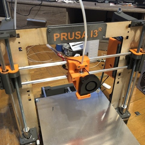 Download free 3D printing templates Prusa i3r X Axis, indigo4