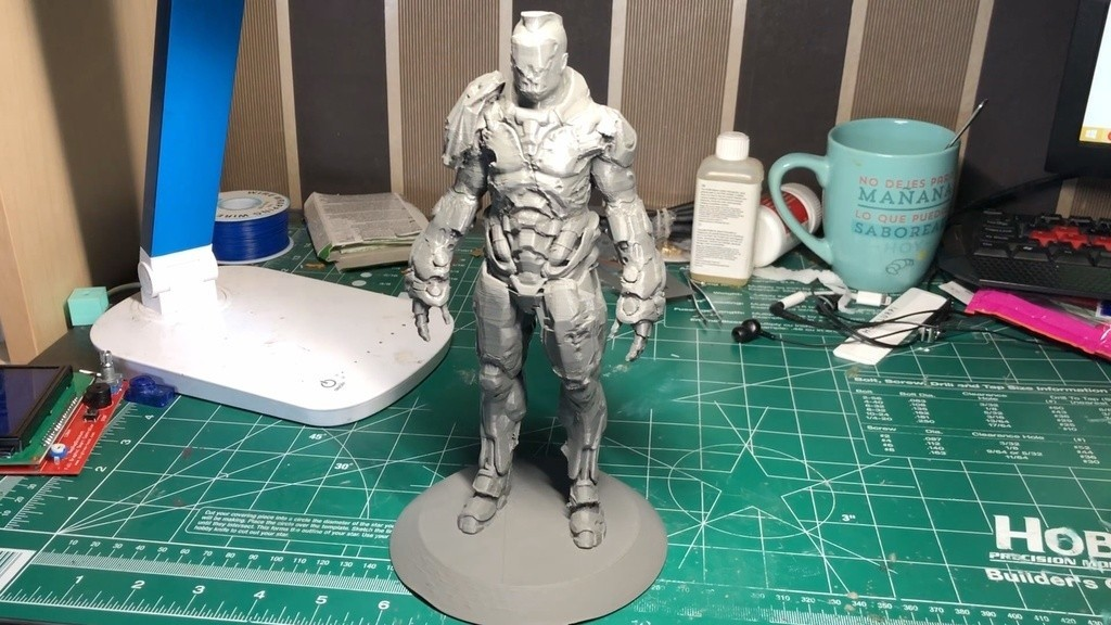 523826989935e87bf7e1a26ee4ea3036_display_large.jpg Download free STL file Visor Statue (Quake Champions) • 3D printer template, indigo4